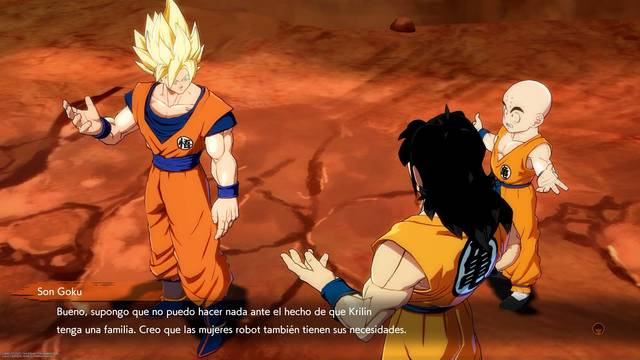 Las escenas de vídeo opcionales de modo historia Dragon Ball FighterZ