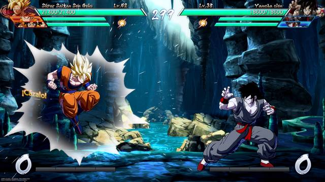 Gestionando a nuestro grupo de modo historia Dragon Ball FighterZ