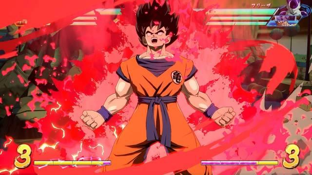 Consejos para luchar con Goku base en Dragon Ball FighterZ