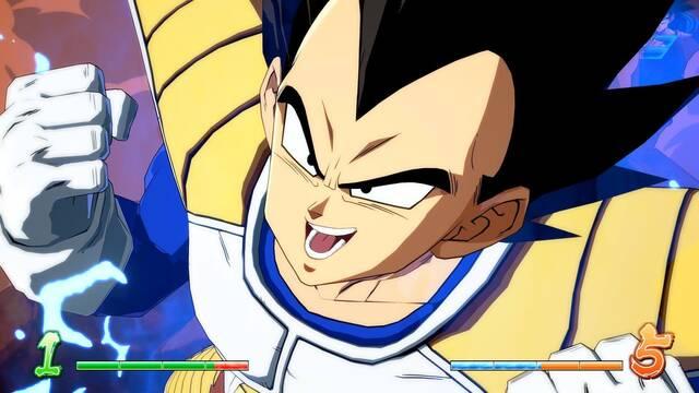 Consejos para luchar con Vegeta base en Dragon Ball FighterZ