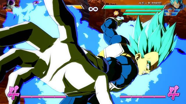 Vegeta Super Saiyan Blue Dragon Ball FighterZ