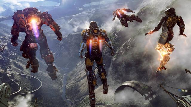 Anthem no funciona a 4K nativos en Xbox One X
