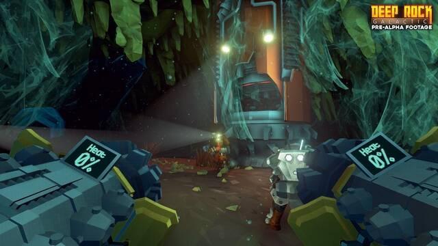 Primer tráiler del shooter cooperativo Deep Rock Galactic en Xbox One