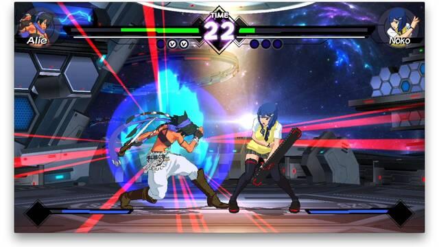 Helen será una de las luchadoras del juego Blade Strangers