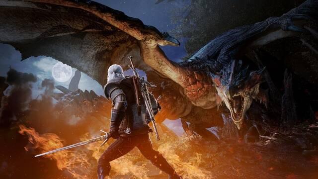 Monster Hunter World: Geralt de Rivia se suma a la cacería en PC el 9 de mayo