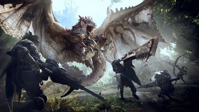 Capcom actualiza ventas: Monster Hunter World supera los 13,1 millones