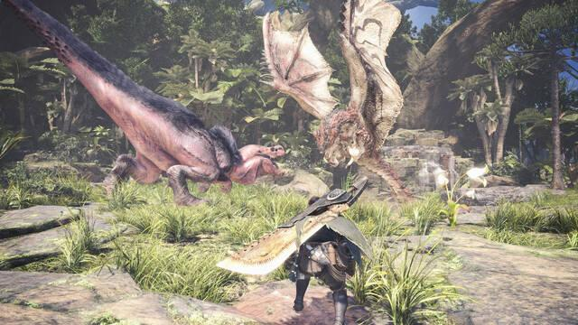 Monster Hunter World triunfa en Steam