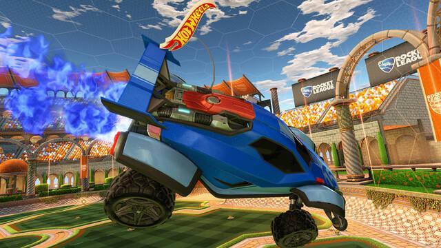 Rocket League tendrá coches de control remoto gracias a Hot Wheels