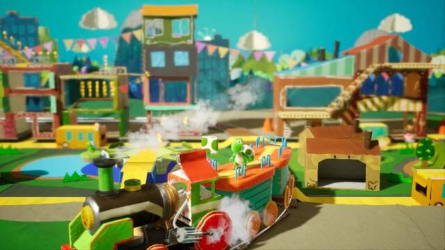 Yoshi's Crafted World será el título del nuevo juego de Yoshi para Switch