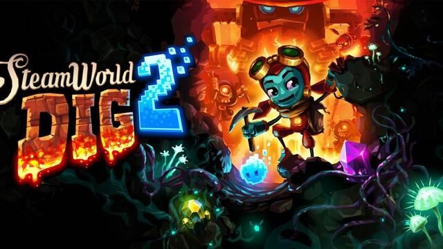 SteamWorld Dig 2 en PC reconoce nativamente el mando de Switch