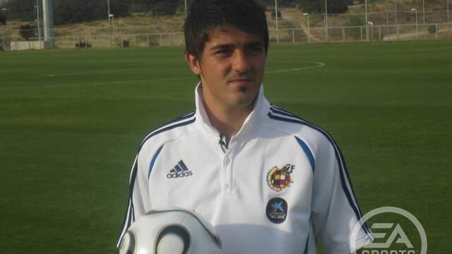 Villa será la imagen de FIFA 07
