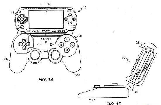 Sony patenta un accesorio tipo Dual Shock para PSP