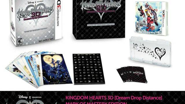 Edición 'Mark of the Mastery' para Kingdom Hearts 3D en Norteamérica
