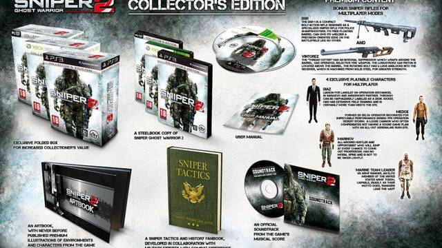 Sniper: Ghost Warrior 2 tendrá dos ediciones especiales