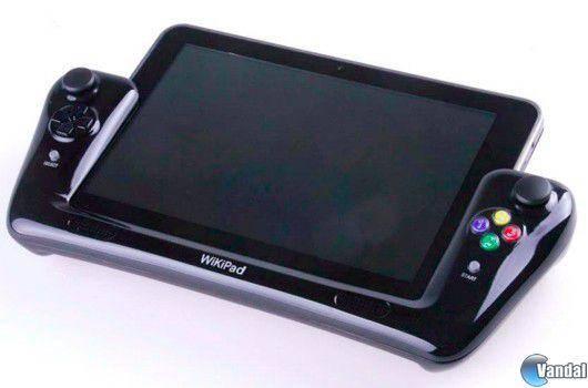 La tableta Wikipad, con mandos tradicionales, integrará Gaikai
