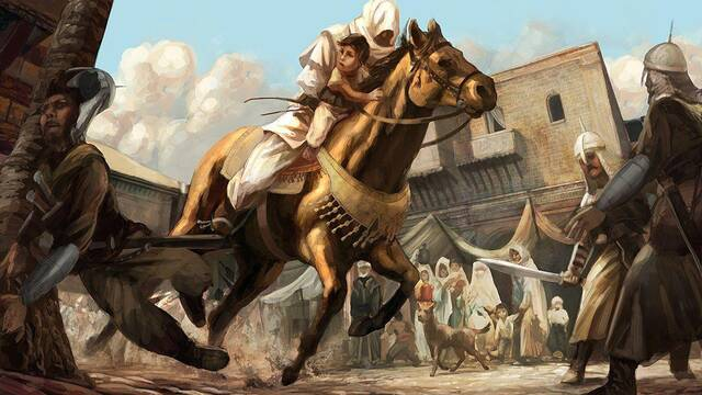 Se muestran ilustraciones del prototipo de Assassin's Creed