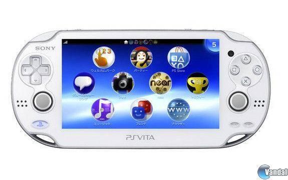 Sony anuncia la PlayStation Vita de color blanco
