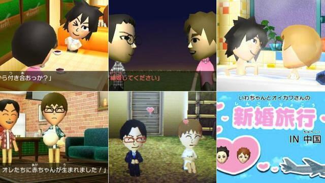 Un 'error' permite matrimonios gay en Tomodachi Collection: New Life