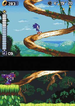 E3: Primeras imágenes de Sonic Rush