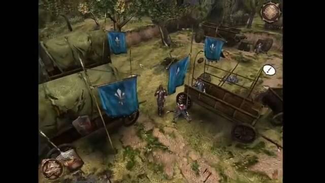 La primera entrega de The Witcher empezó como un juego al estilo Diablo