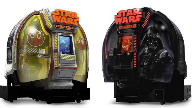 Bandai Namco venderá una versión doméstica de Star Wars Battle Pod