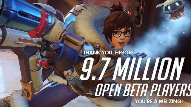 La beta de Overwatch sumó 9,7 millones de jugadores