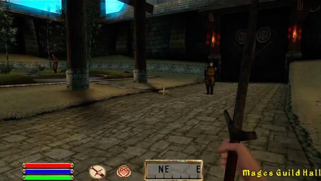 Se filtran vídeos del cancelado The Elder Scrolls Travels: Oblivion de PSP