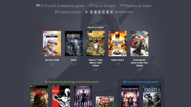 Nuevo Humble Bundle dedicado a los juegos de Deep Silver