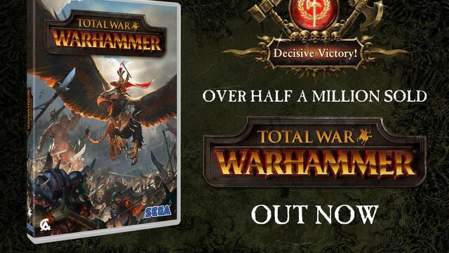 Total War: Warhammer logra vender medio millón de copias durante su lanzamiento