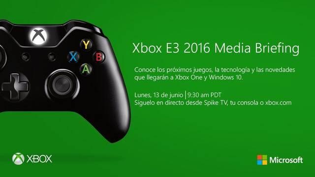 La conferencia de Microsoft del E3 durará 90 minutos