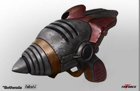 Realizan una réplica de la pistola Alien Blaster de Fallout 4