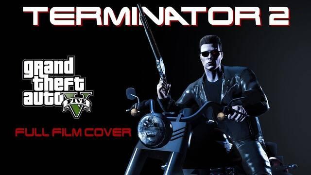 Recrean Terminator 2 al completo en Grand Theft Auto V
