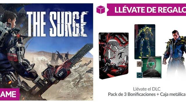 GAME anuncia sus incentivos por compra para The Surge