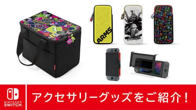 Nintendo Japón presenta nuevos accesorios para Switch
