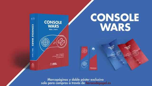 Ya se puede reservar 'Console Wars' de Héroes de Papel