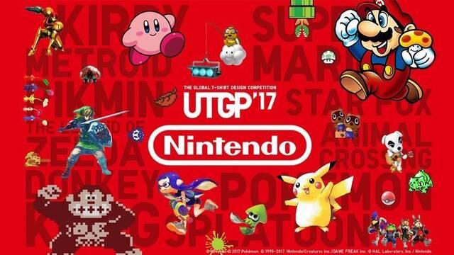 Las camisetas Nintendo x UNIQLO ya están disponibles