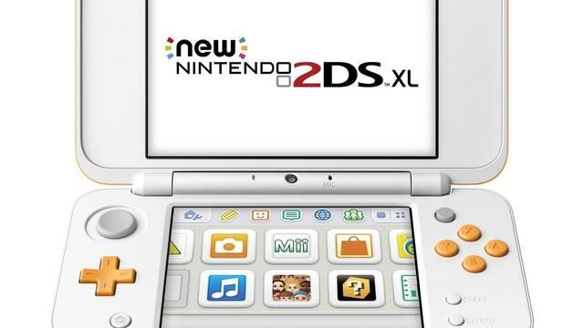 New 2DS XL es la consola más vendida de la semana en Japón