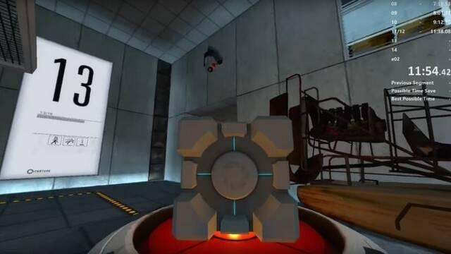 Consiguen superar Portal en menos de una hora sin usar ningún tipo de portal
