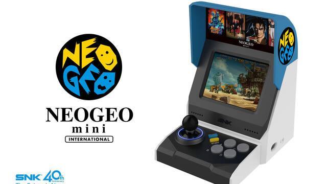 Neo Geo mini llegará a Japón en verano y más tarde al resto del mundo