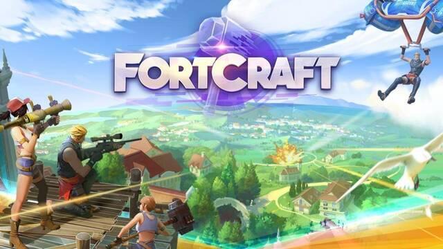 Así es FortCraft, la descarada copia de Fortnite para Android y iOS
