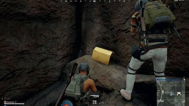 Los jugadores de PUBG encuentran misteriosos cofres dorados en Sanhok