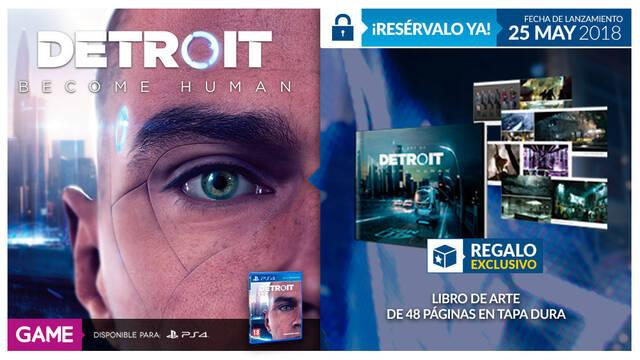 GAME anuncia su regalo por la reserva de Detroit: Become Human