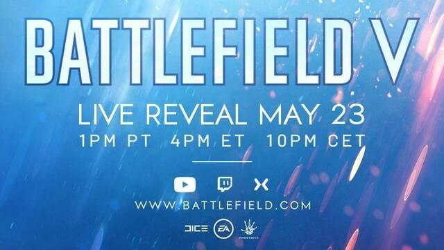 El Battlefield de este año será Battlefield V y se presentará el 23 de mayo