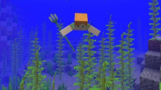 Llega la primera fase de la Actualizacion Acuática de Minecraft
