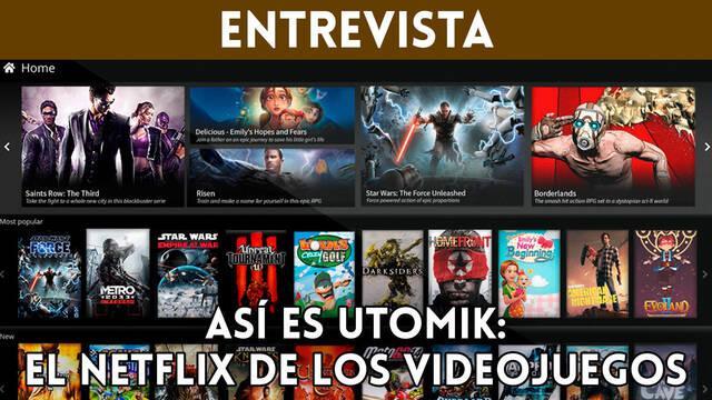 Entrevista: Así es Utomik, el 'Netflix de los videojuegos' para PC