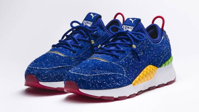 PUMA y SEGA anuncian una colección de zapatillas oficiales de Sonic
