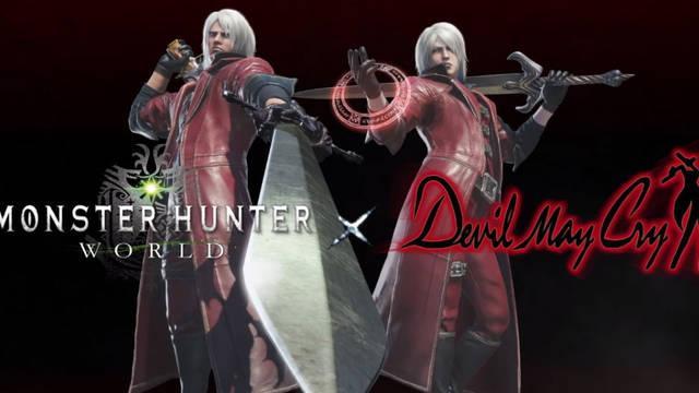 ¿Cómo desbloquear a Dante de Devil May Cry en Monster Hunter World?