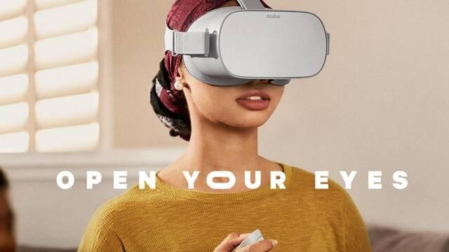 Llega Oculus Go, el visor independiente para realidad virtual de Oculus