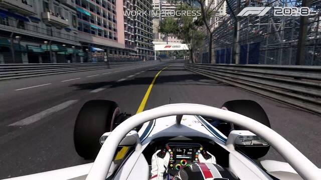 El piloto Charles Leclerc nos muestra el primer vistazo a F1 2018