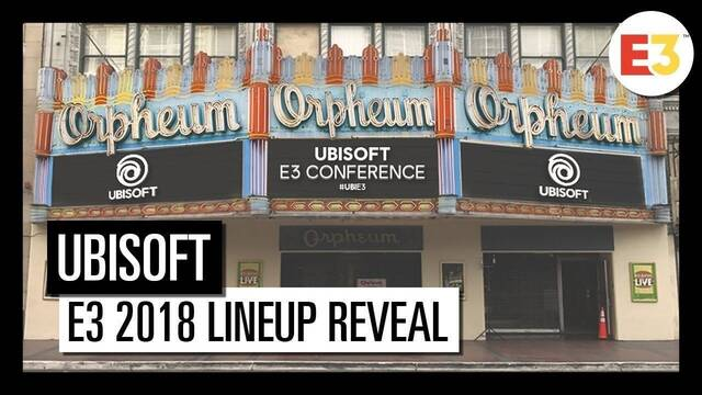 Ubisoft detalla sus juegos para el E3 y confirma sorpresas